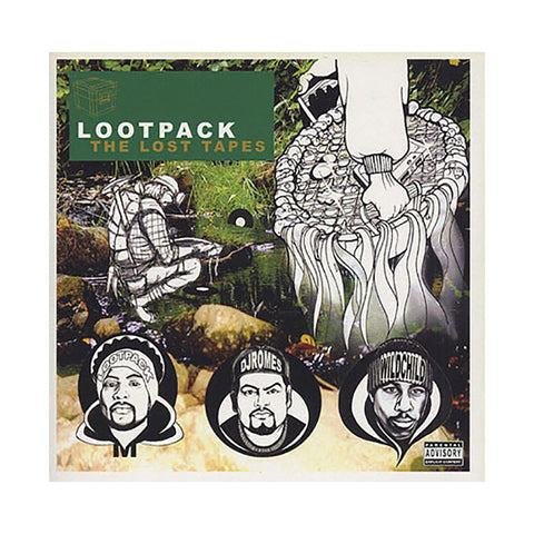 Lootpack - 'The Lost Tapes' [CD]
