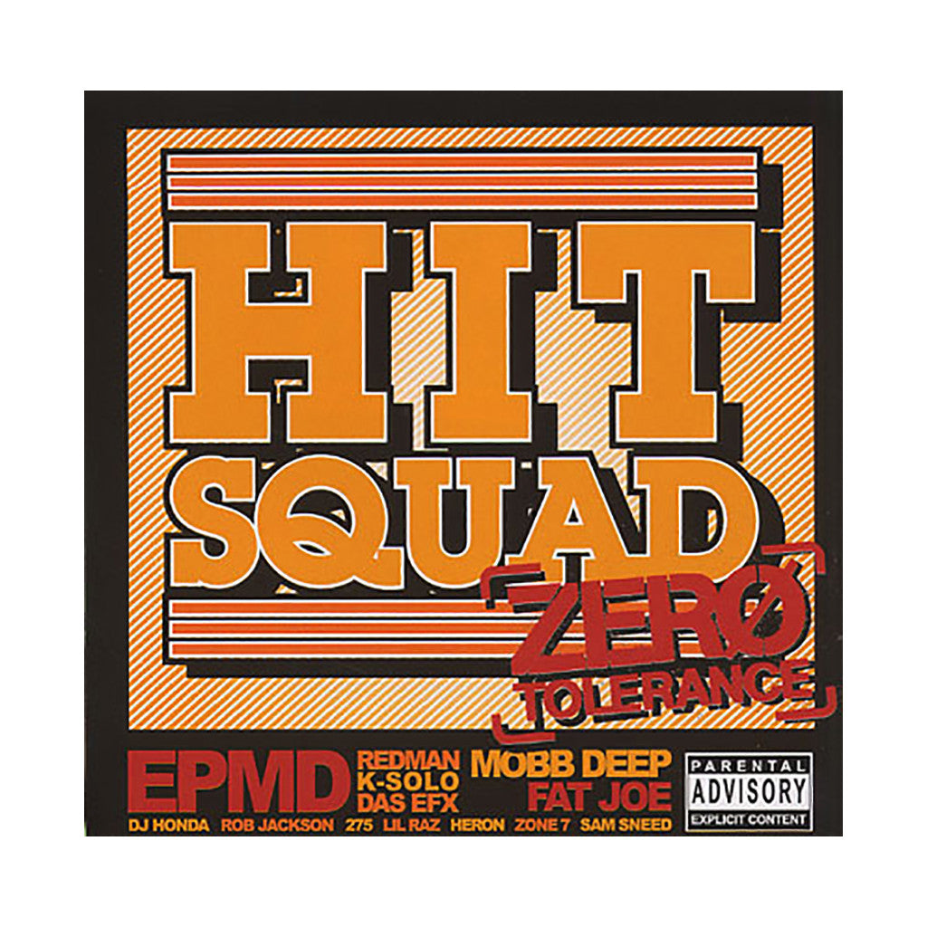 <!--2004110914-->Hit Squad - 'Zero Tolerance (Orange Cover)' [CD]