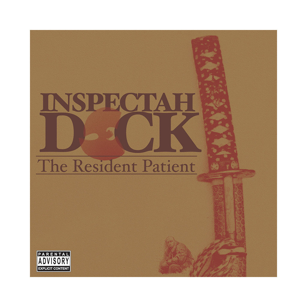 <!--020060829007808-->Inspectah Deck - 'The Resident Patient' [(Black) Vinyl [2LP]]