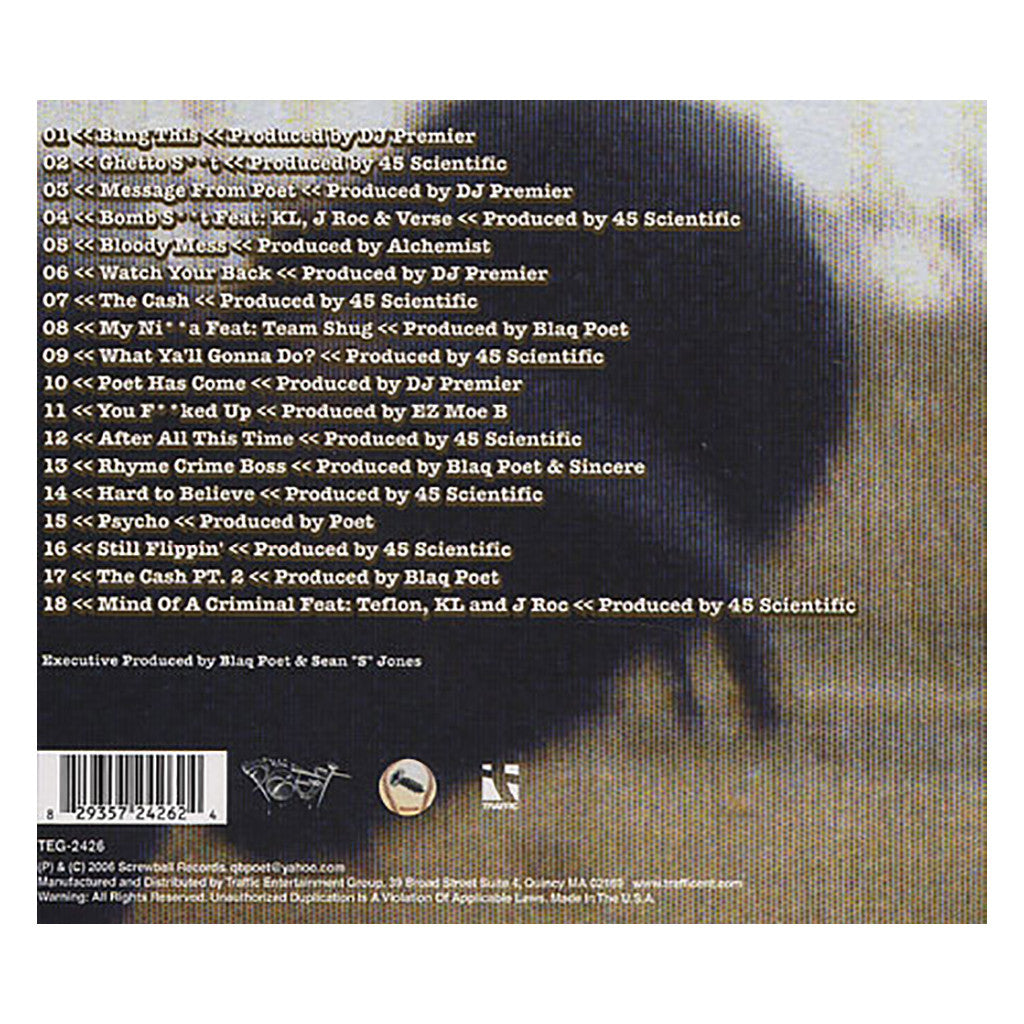 <!--2006022106-->Blaq Poet - 'Rewind: Deja Screw' [CD]