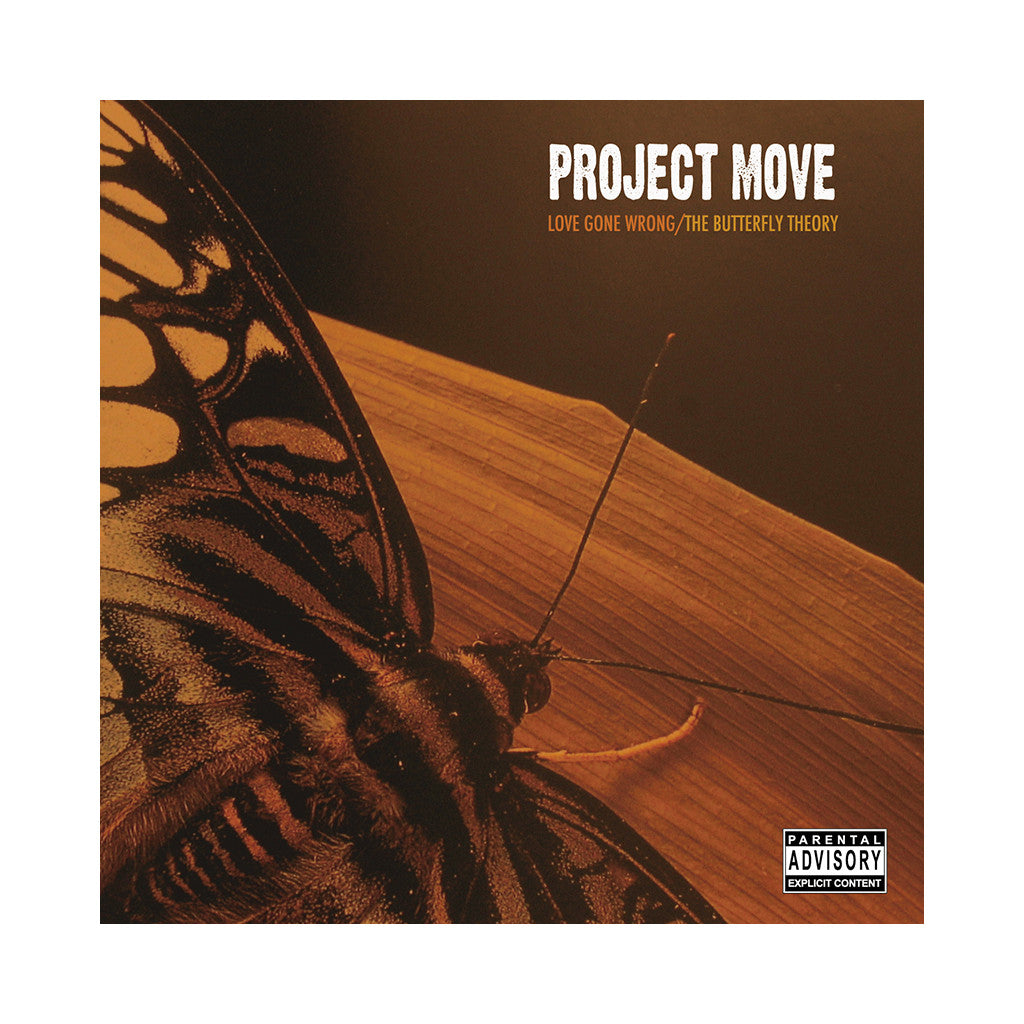<!--020060523007088-->Project Move - 'Love Gone Wrong/ The Butterfly Theory' [CD]