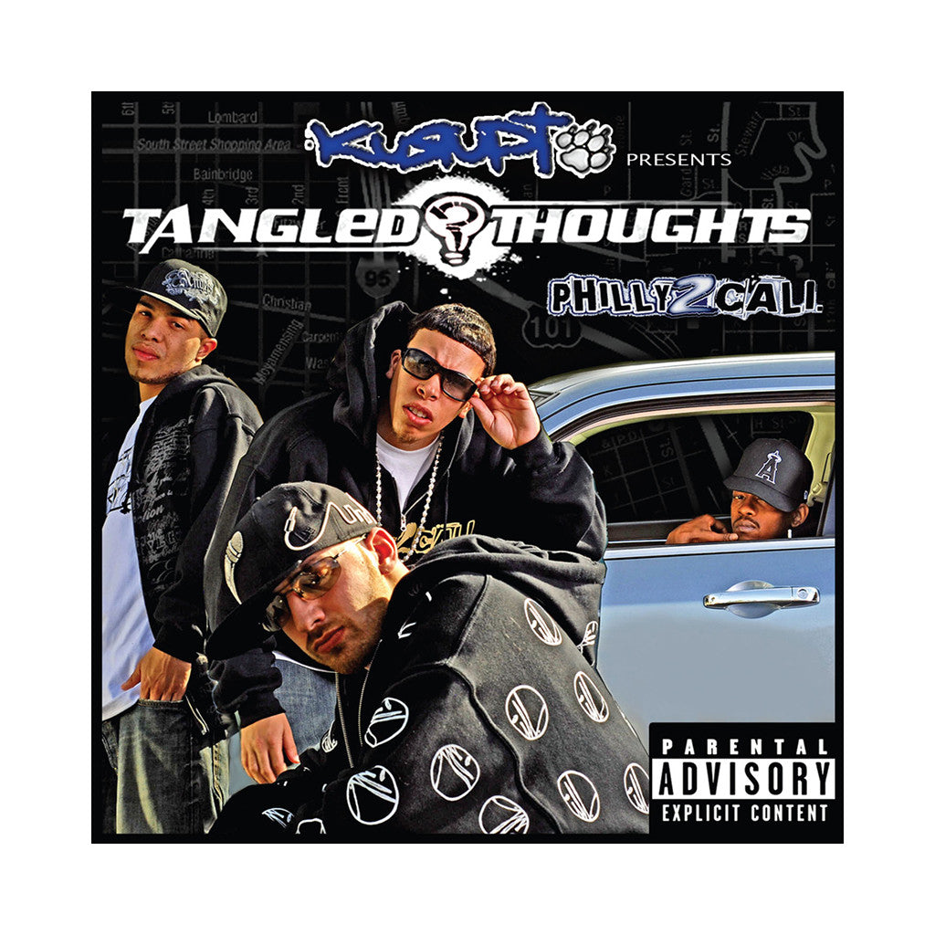 Tangled Thoughts (Kurupt Presents) - 'Philly 2 Cali' [CD]