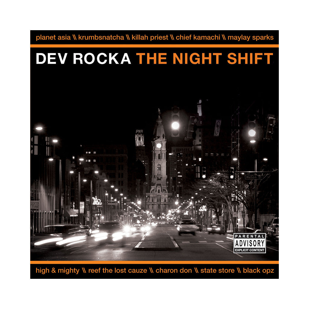 Dev Rocka - 'The Night Shift' [CD]