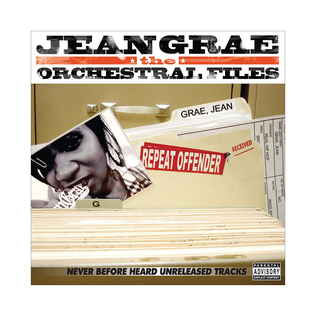 <!--020071120011056-->Jean Grae - 'The Orchestral Files: Never Before Heard Unreleased Tracks' [CD]