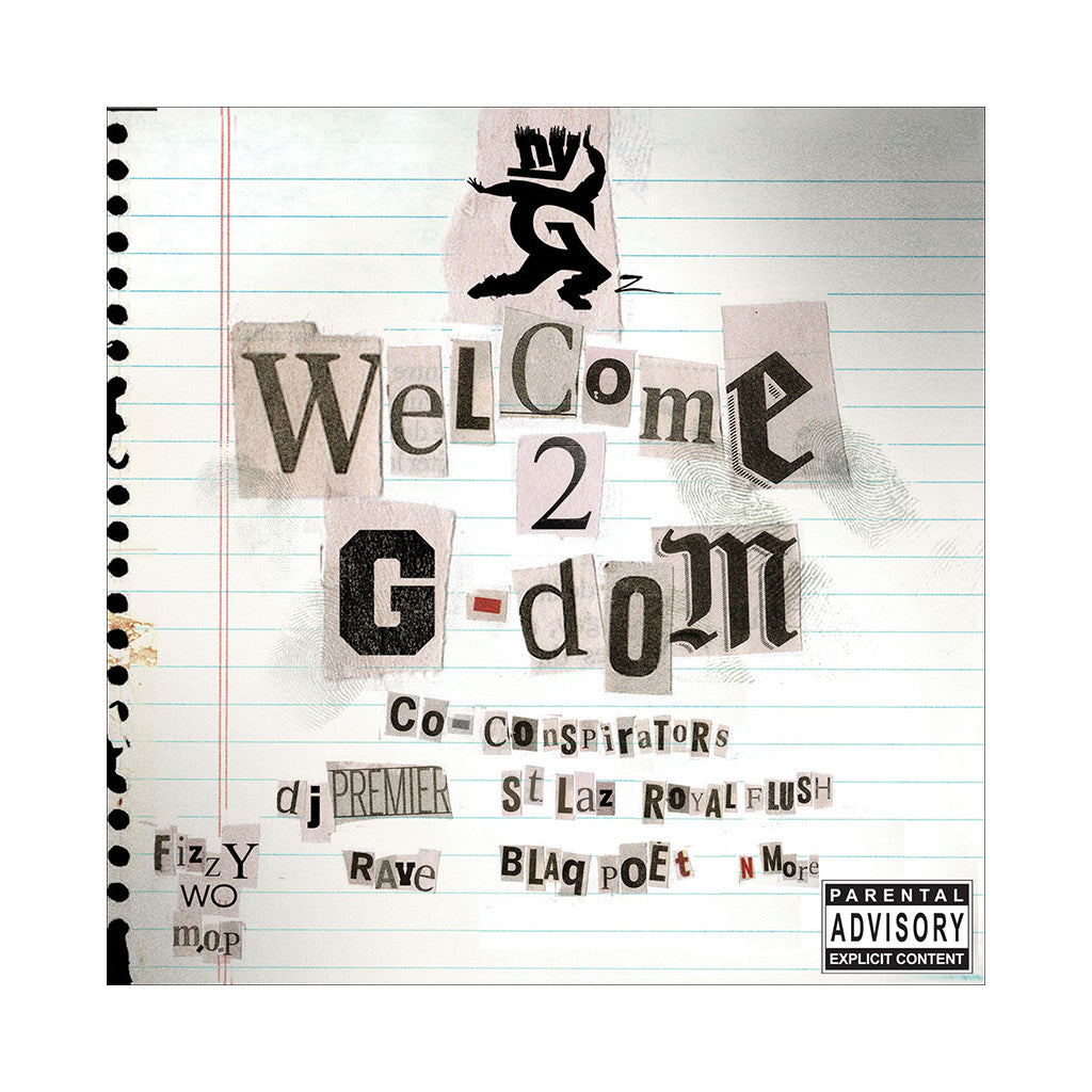 <!--020071023010685-->NYG'z - 'Welcome 2 G-Dom' [(Black) Vinyl [2LP]]