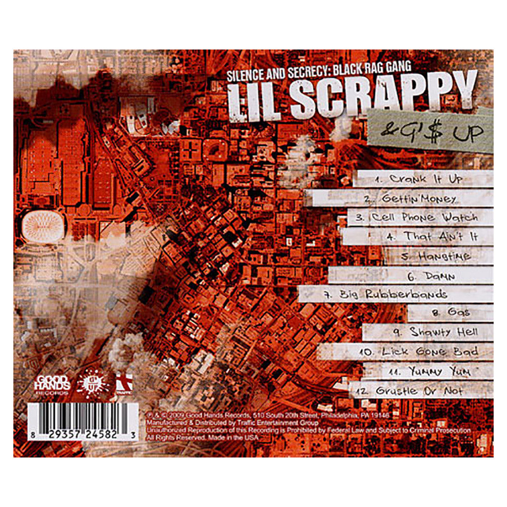 Lil' Scrappy & G$ Up - 'Silence And Secrecy: Black Rag Gang' [CD]
