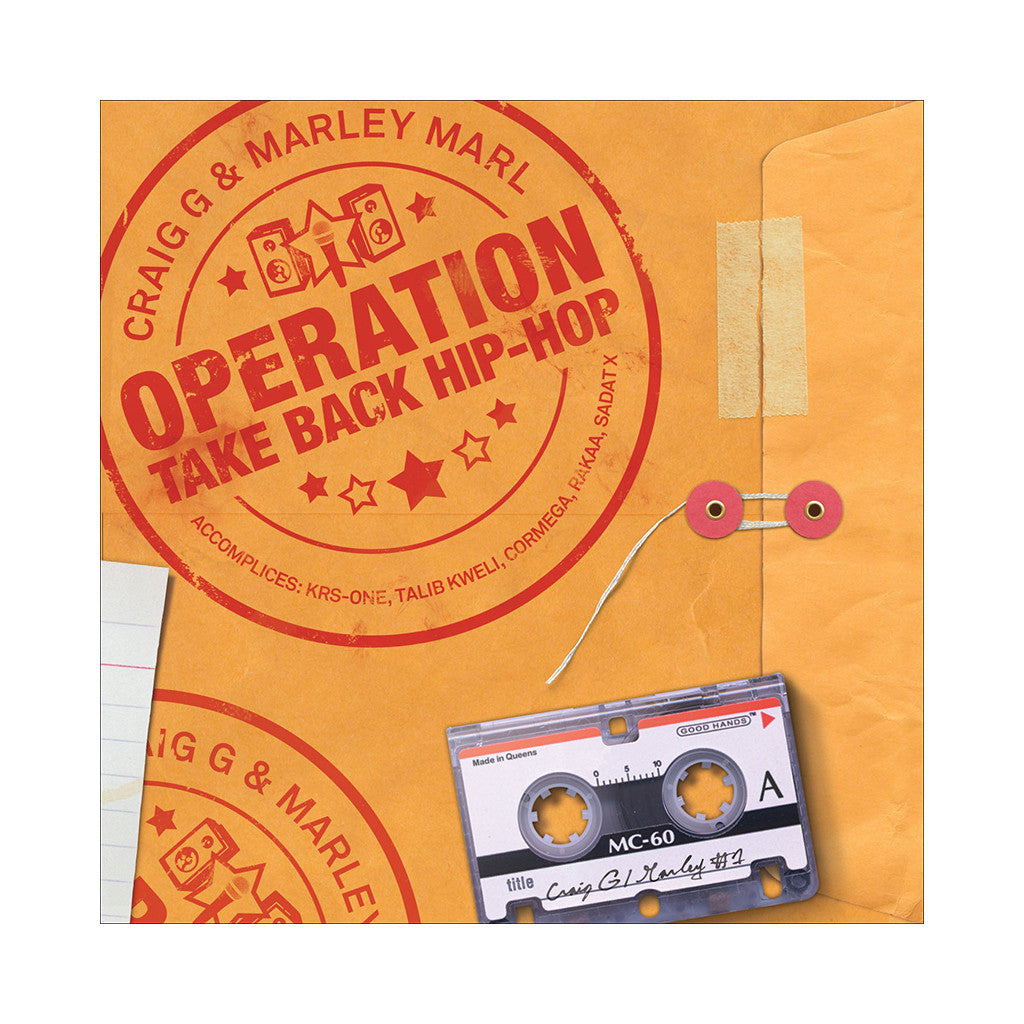 Craig G & Marley Marl - 'Operation Take Hip Hop Back' [(Black) Vinyl [2LP]]