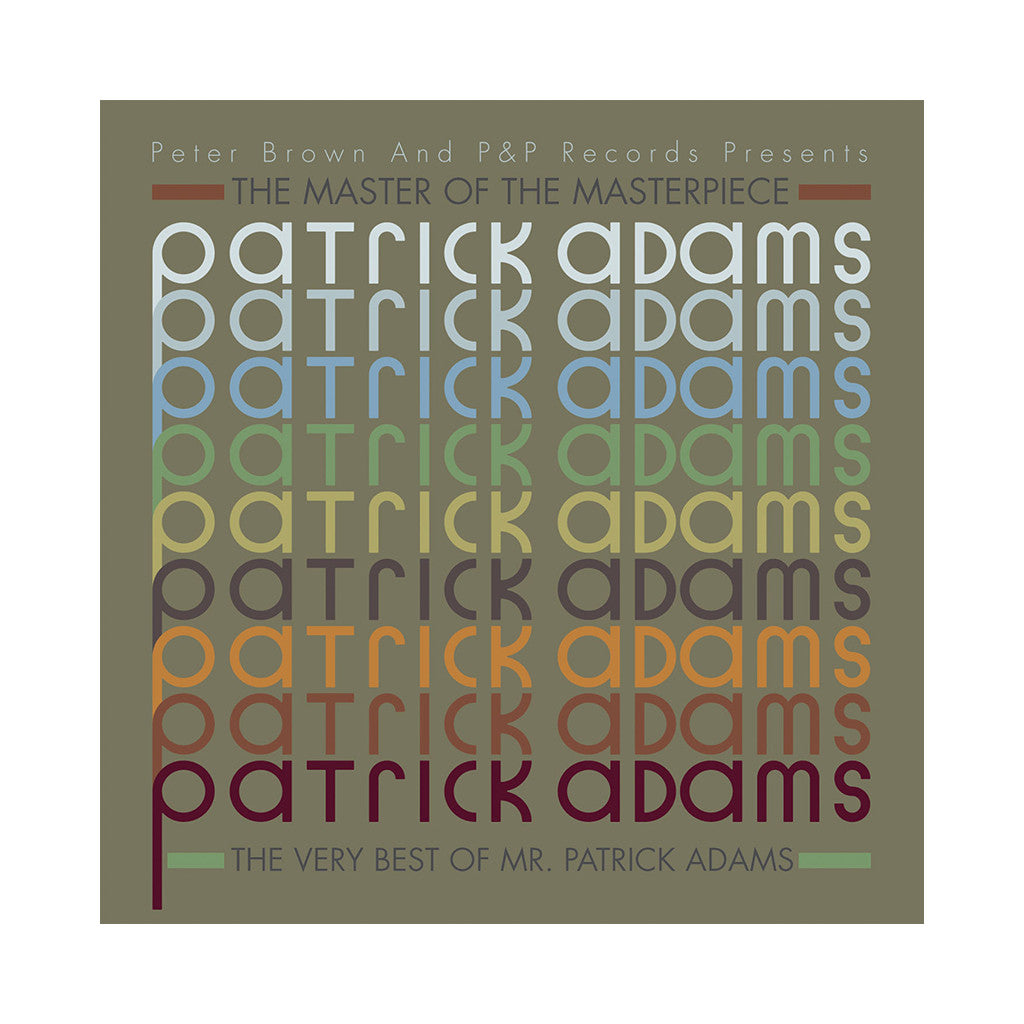 Patrick Adams - 'The Very Best Of Mr. Patrick Adams' [(Black) Vinyl [3LP]]