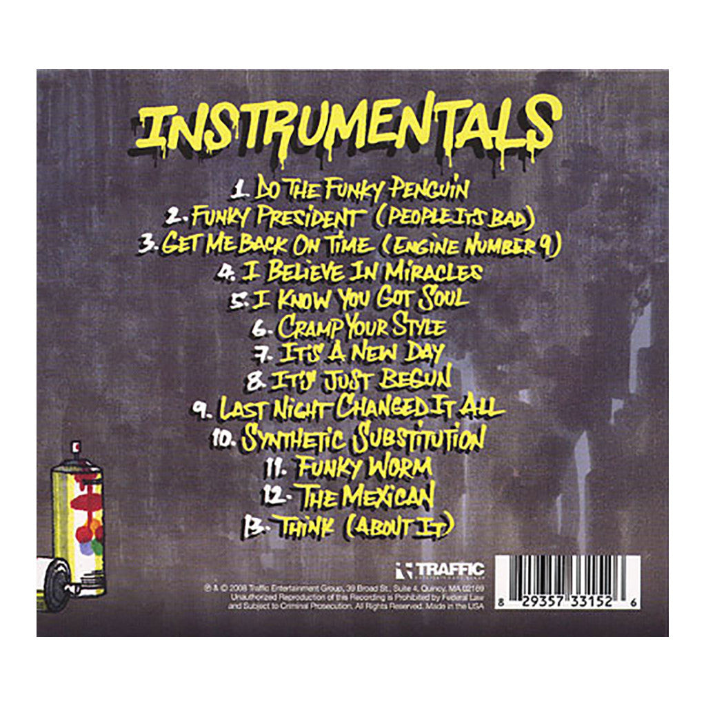 Ultimate Breaks & Beats - 'Instrumentals Vol. 1' [CD]