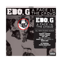 EDO.G - 'A Face In The Crowd' [CD]