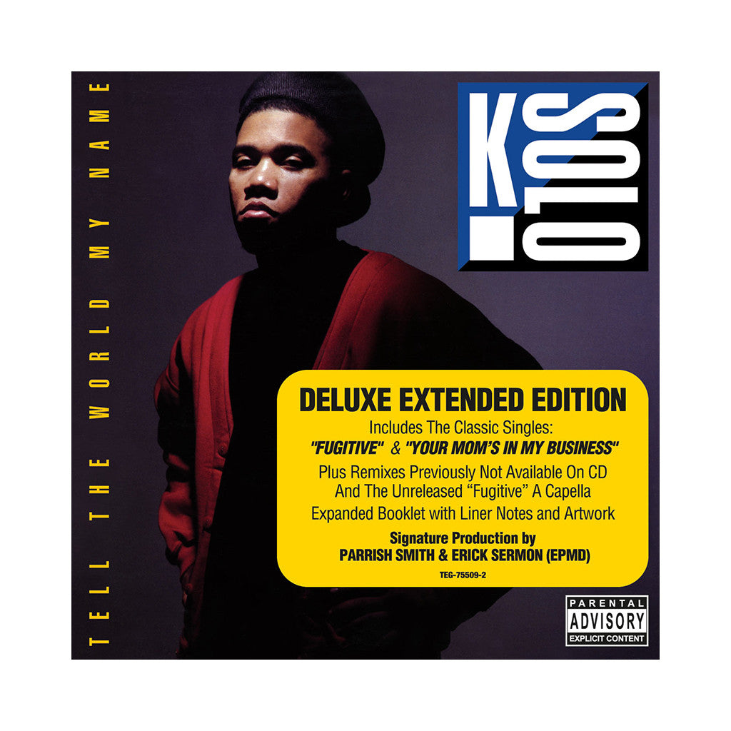 <!--2009072143-->K-Solo - 'Tell The World My Name (Deluxe Edition)' [CD]