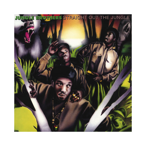 "[""Jungle Brothers - 'Straight Out The Jungle' [(Black) Vinyl [2LP]]""]"