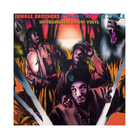 "[""Jungle Brothers - 'Straight Out The Jungle (Instrumentals)' [(Black) Vinyl [2LP]]""]"
