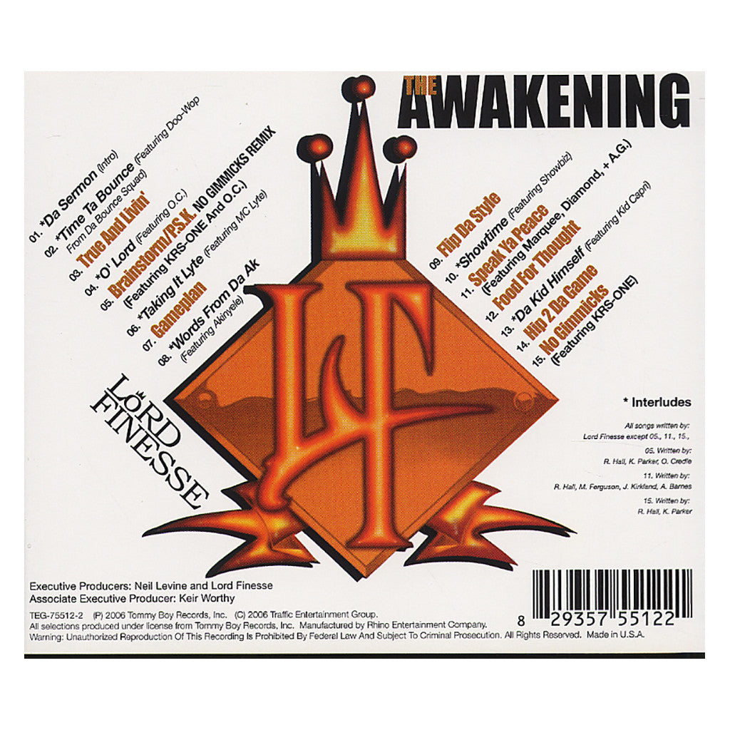 <!--120061121008407-->Lord Finesse - 'The Awakening' [CD]