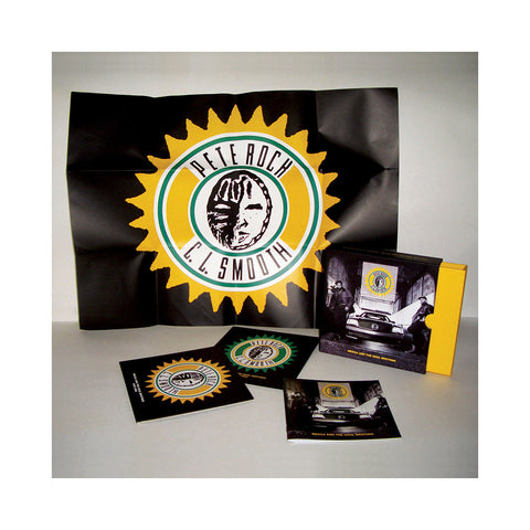 "[""Pete Rock & CL Smooth - 'Mecca And The Soul Brother (Deluxe Edition)' [CD [2CD]]""]"