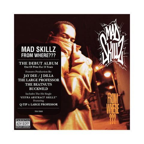 Mad Skillz - 'From Where???' [CD]