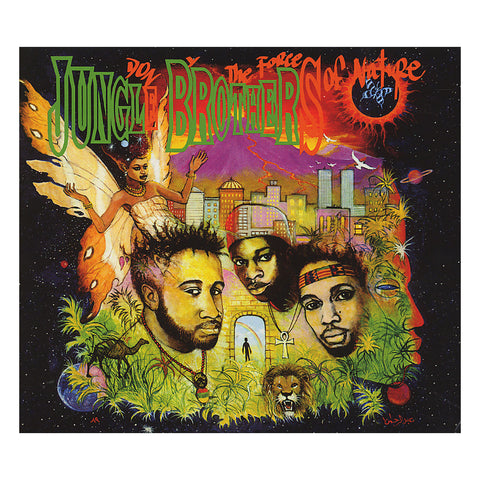 "[""Jungle Brothers - 'Done By The Forces Of Nature (Special Edition)' [CD [2CD]]""]"