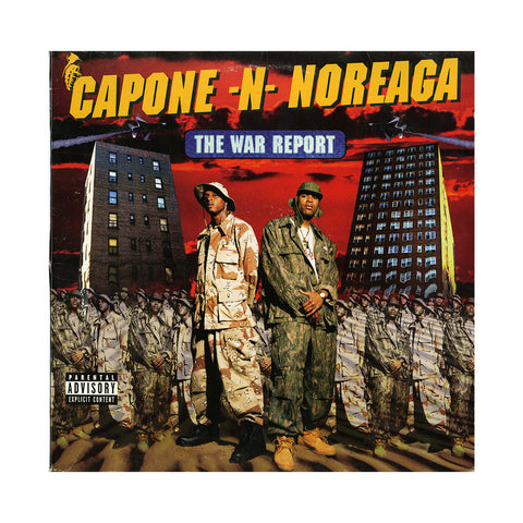 Capone -N- Noreaga - 'The War Report' [(Black) Vinyl [2LP]]