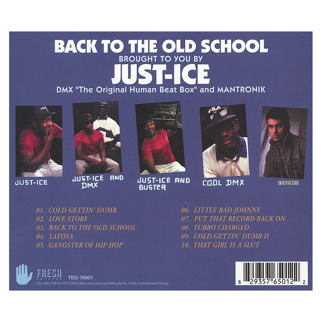 <!--120050101012053-->Just-Ice - 'Back To The Old School' [CD]