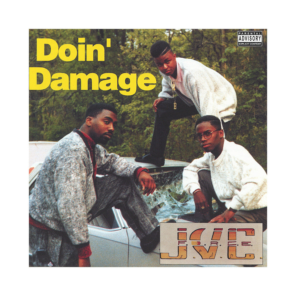 J.V.C. F.O.R.C.E. - 'Doin' Damage' [(Black) Vinyl [2LP]]