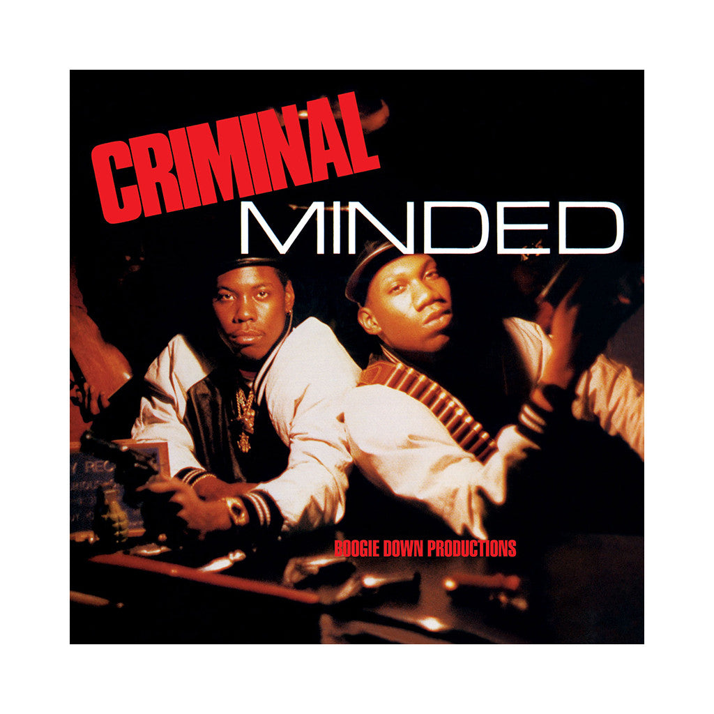 <!--120160909005885-->Boogie Down Productions - 'Criminal Minded' [CD]
