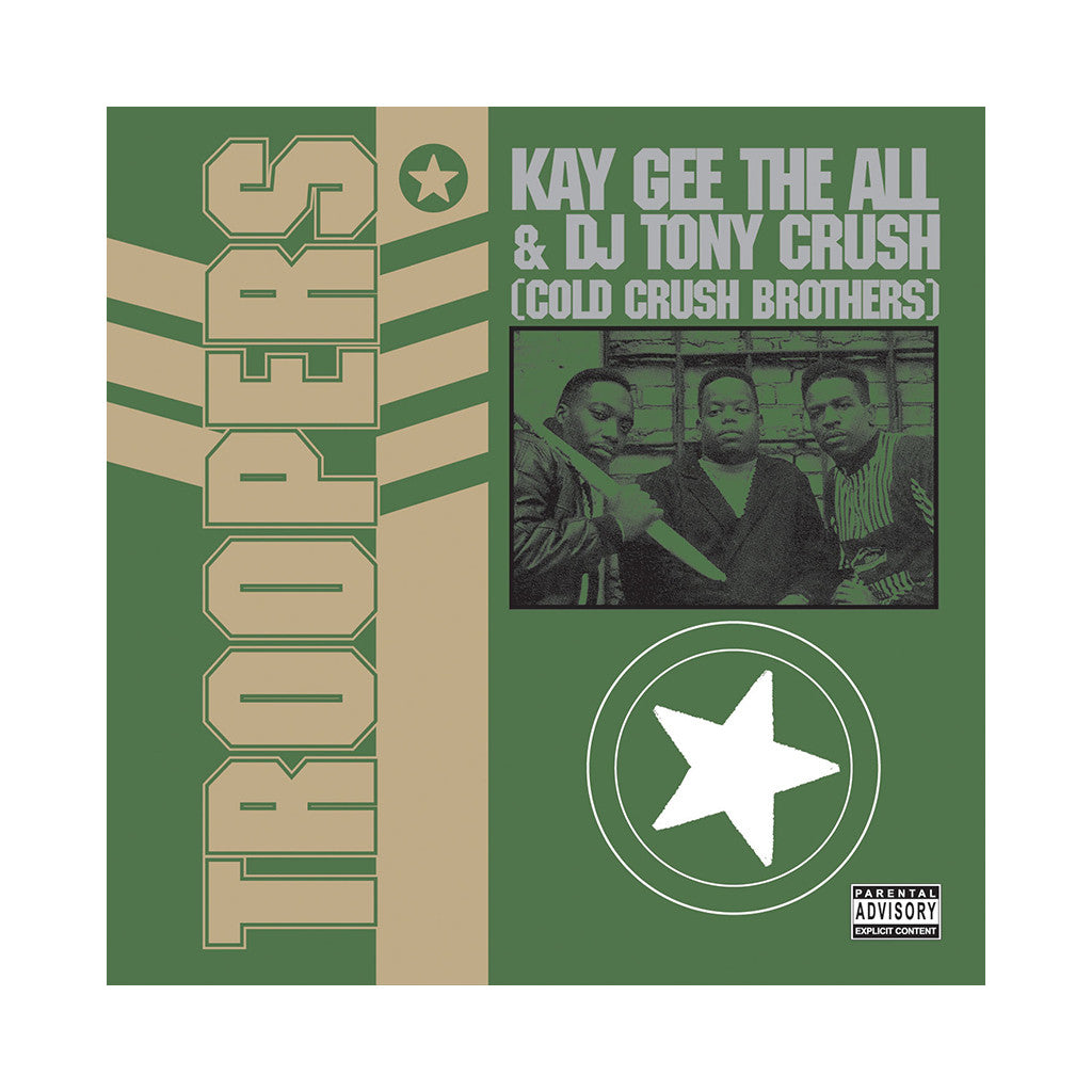 Kay Gee The All & DJ Tony Crush - 'Troopers' [CD]