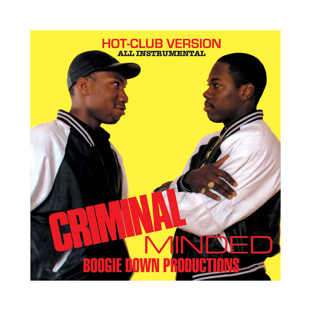 <!--120061114008544-->Boogie Down Productions - 'Criminal Minded (Instrumentals)' [CD]