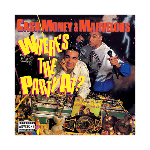 "[""Cash Money & Marvelous - 'Where's The Party At?' [CD]""]"