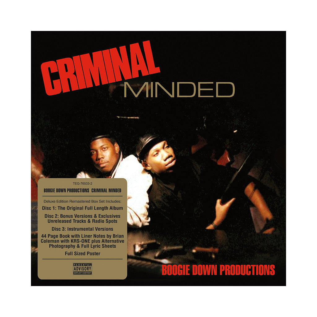 <!--020100928023311-->Boogie Down Productions - 'Criminal Minded (Elite Edition)' [CD [3CD]]