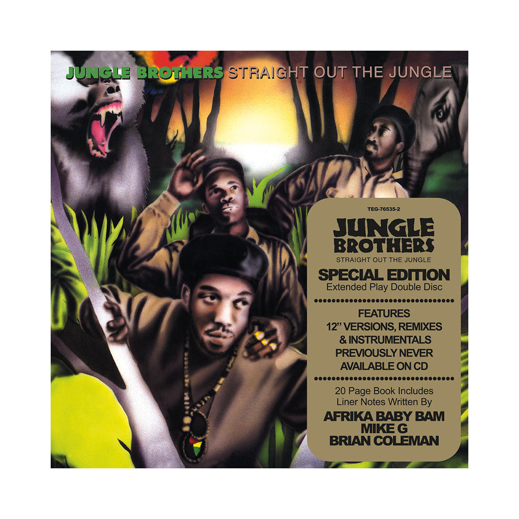 <!--2010070637-->Jungle Brothers - 'Straight Out The Jungle (Deluxe Edition)' [CD [2CD]]