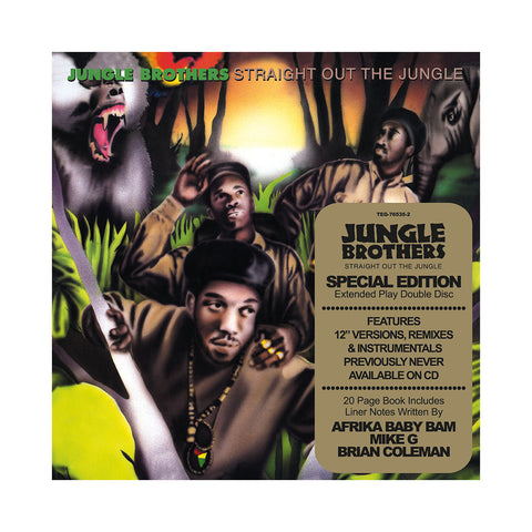 "[""Jungle Brothers - 'Straight Out The Jungle (Deluxe Edition)' [CD [2CD]]""]"