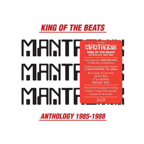 Mantronix - 'King Of The Beats: Anthology 1985-1988' [CD [2CD]]