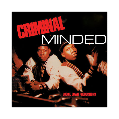 "[""Boogie Down Productions - 'Criminal Minded' [(Black) 7\"" Vinyl Single [5x7\""]]""]"