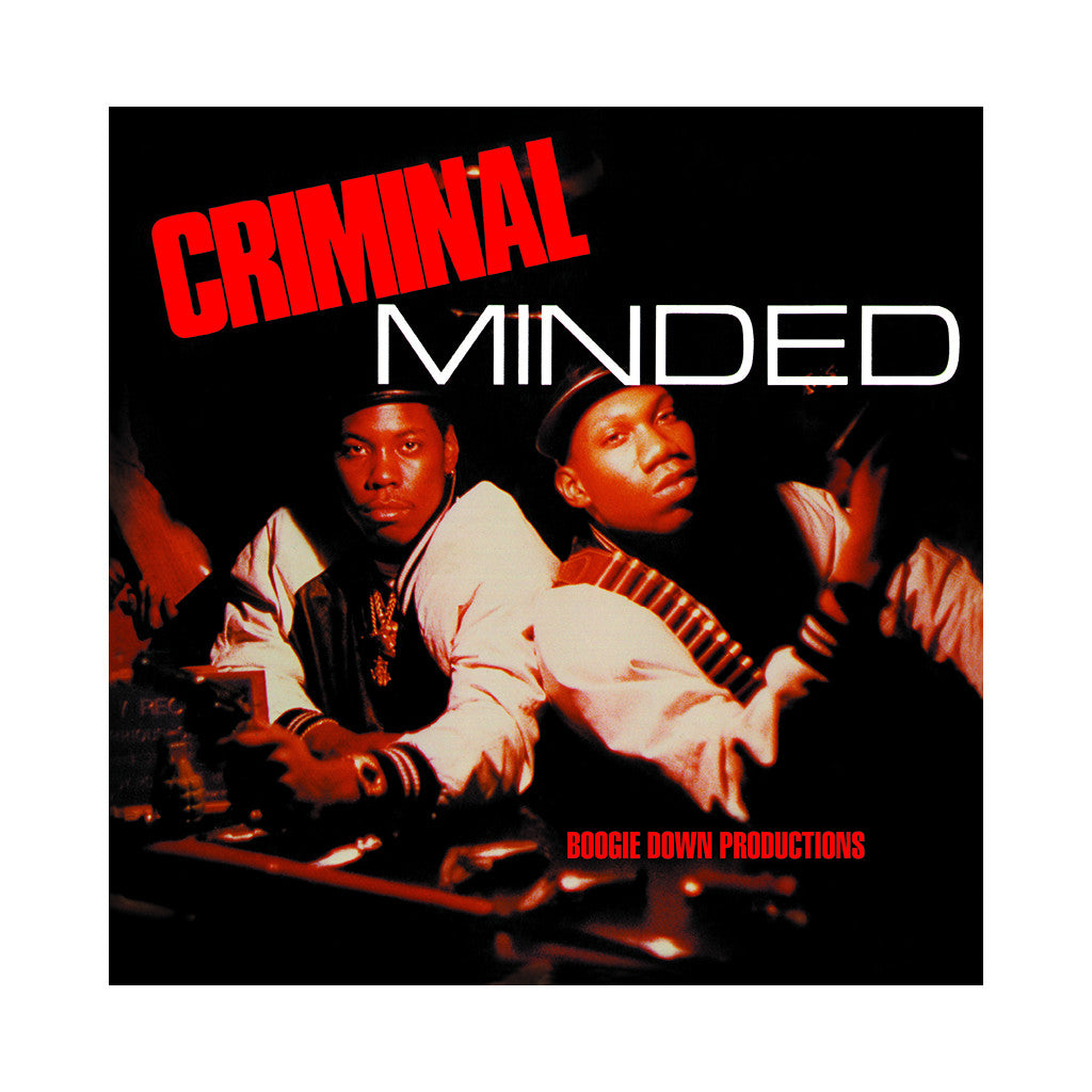 <!--2001041837-->Boogie Down Productions - 'Criminal Minded' [Streaming Audio]