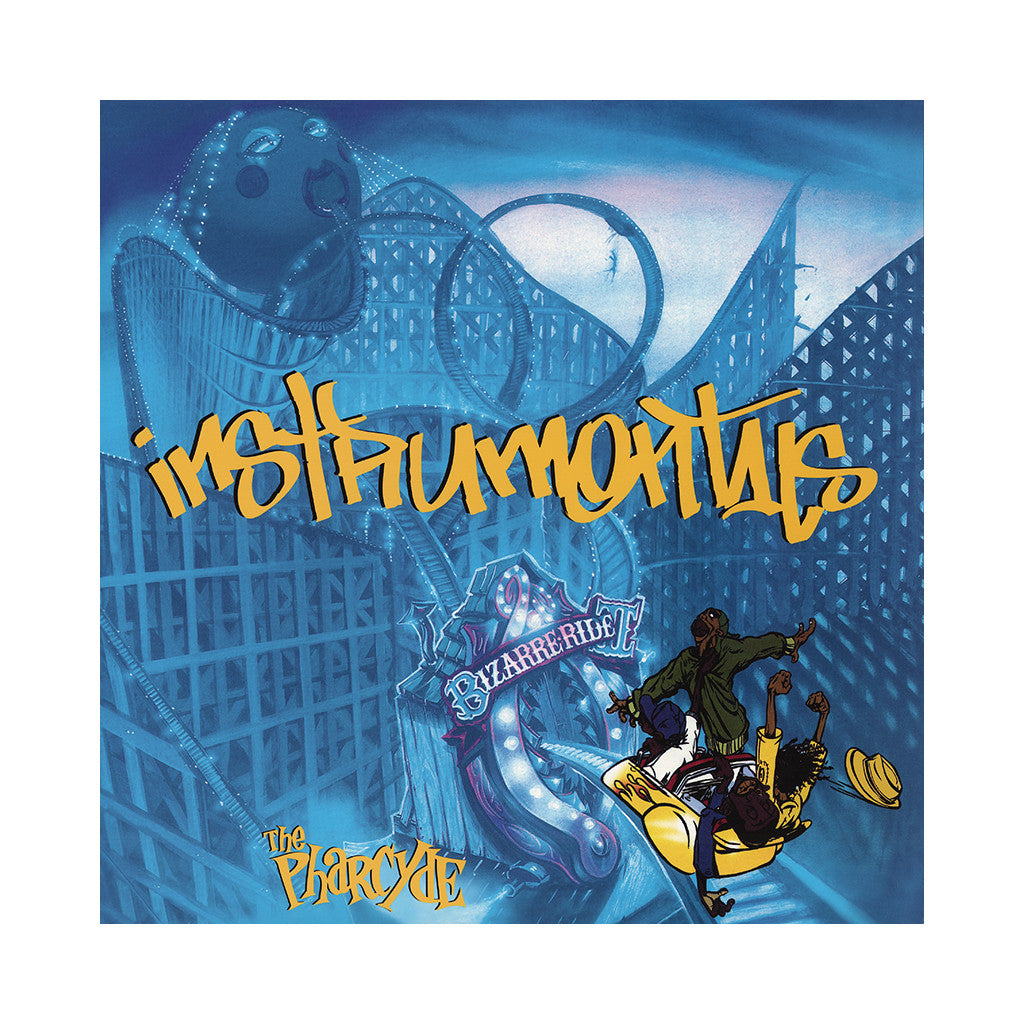 The Pharcyde - 'Bizarre Ride II The Pharcyde + Labcabincalifornia (Instrumentals)' [CD]