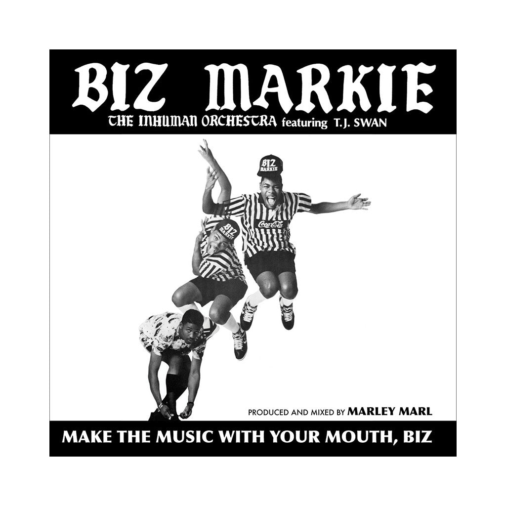 Biz Markie - 'Make The Music With Your Mouth, Biz (The Inhuman Orchestra)' [(Black) Vinyl EP]