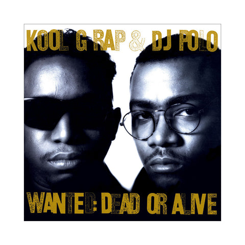 Kool G Rap & DJ Polo - 'Wanted: Dead Or Alive (Deluxe Edition)' [(Black) Vinyl [4LP]]