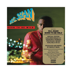 MC Shan - 'Born To Be Wild (Deluxe Edition)' [CD]