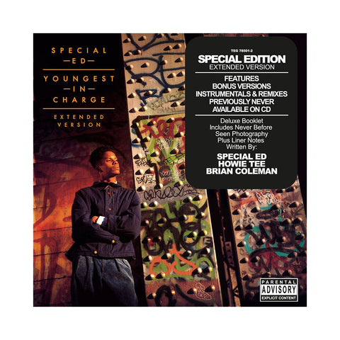 "[""Special Ed - 'Youngest In Charge: Extended Version' [CD]""]"
