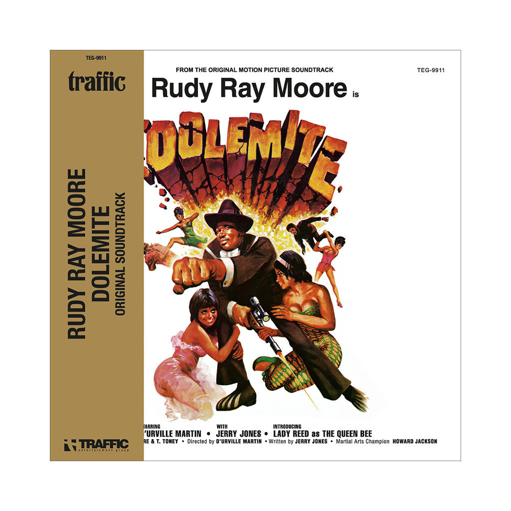Rudy Ray Moore - 'Dolemite (Original Soundtrack) (Expanded Edition)' [CD [2CD]]