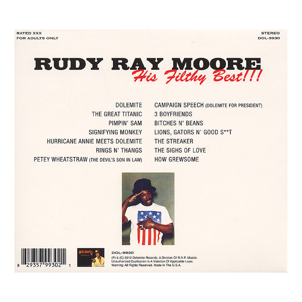<!--120120327040936-->Rudy Ray Moore - 'His Filthy Best!!!' [CD]