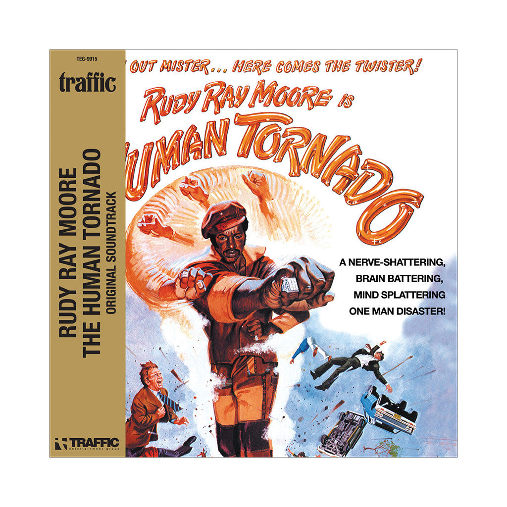 Rudy Ray Moore - 'The Human Tornado (Original Soundtrack)' [CD]