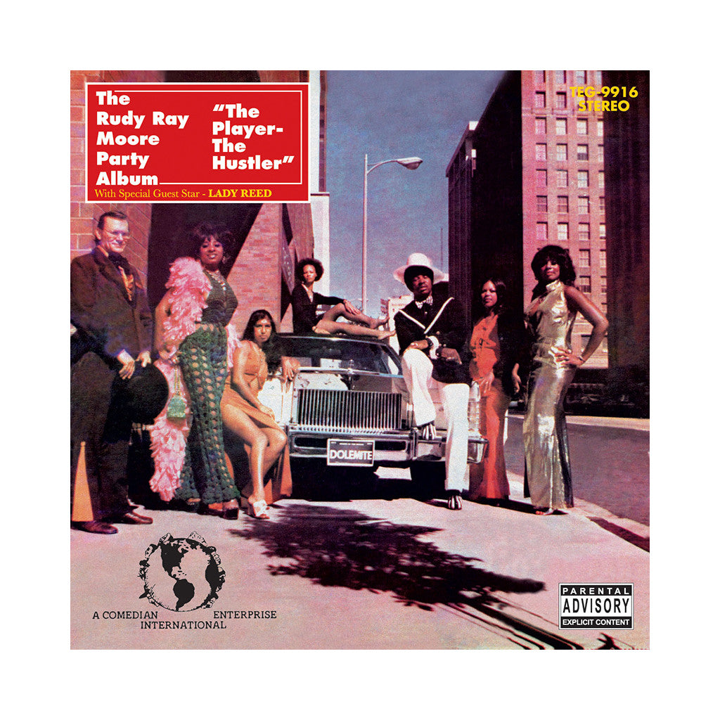 Rudy Ray Moore - 'The Player-The Hustler' [CD]