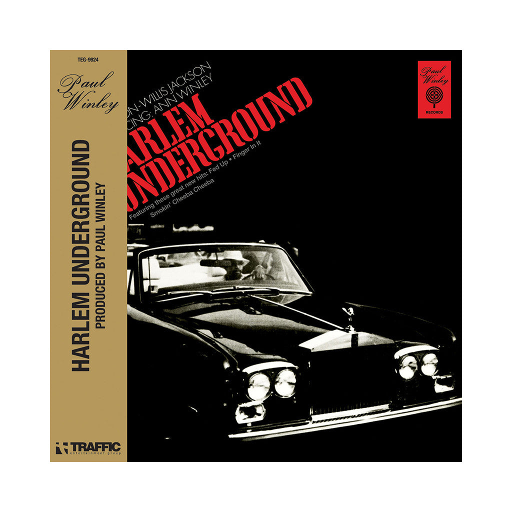 <!--120090818017633-->The Harlem Underground Band - 'The Harlem Underground Band' [CD]