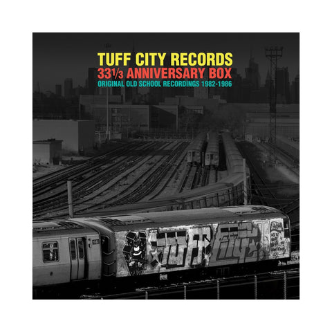 "[""Various Artists - 'Tuff City Records: Original Old School Recordings 1982-1986 (33 1/3 Anniversary Box)' [(Black) Vinyl [6LP]]""]"