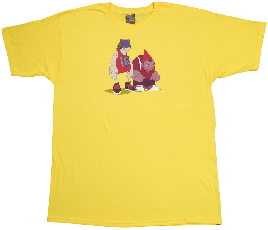 <!--2011091314-->12 Grain - 'Music Marauders' [(Yellow) T-Shirt]