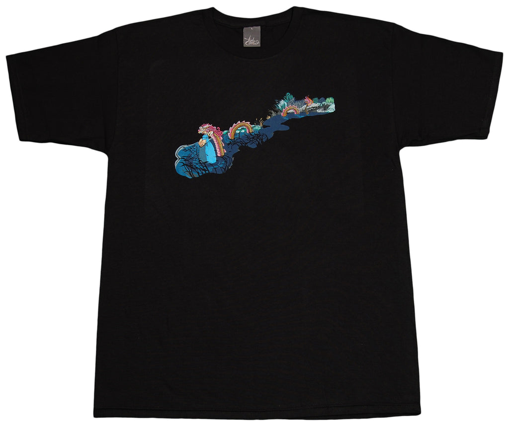 <!--2012051524-->12 Grain - 'Dragon River' [(Black) T-Shirt]