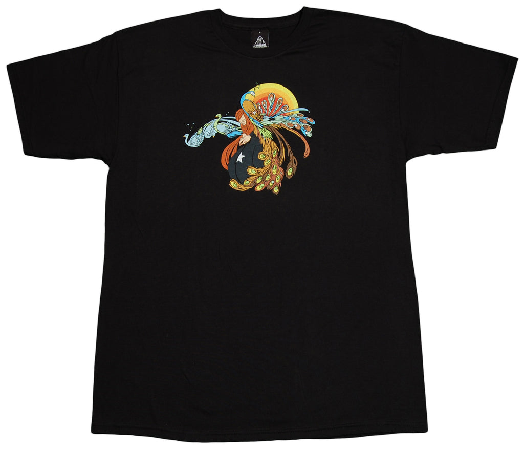 <!--2012051546-->12 Grain - 'Lady Peacock' [(Black) T-Shirt]