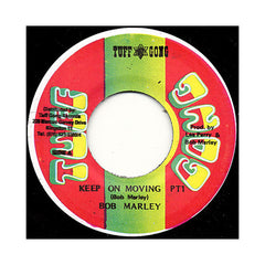 "<!--019800506013838-->Bob Marley & The Wailers - 'Keep On Moving Pt. 1/ Pimper's Paradise' [(Black) 7"" Vinyl Single]"