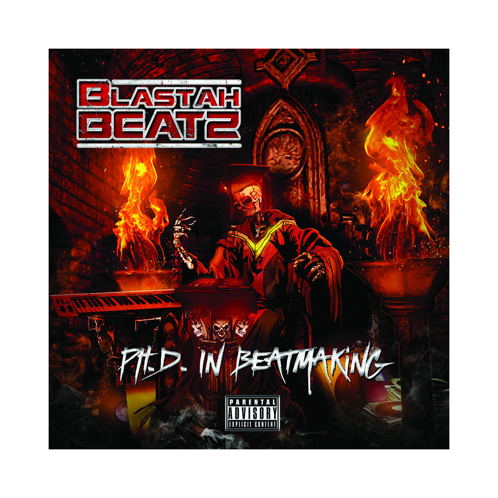 Blastah Beatz - 'PHD In Beatmaking' [CD]